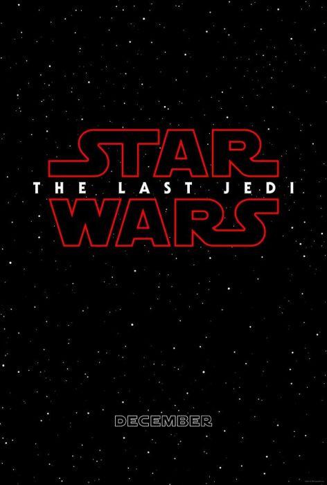 Plakat Promujący Gwiezdne Wojny The Last Jedi Blog Eplakatypl