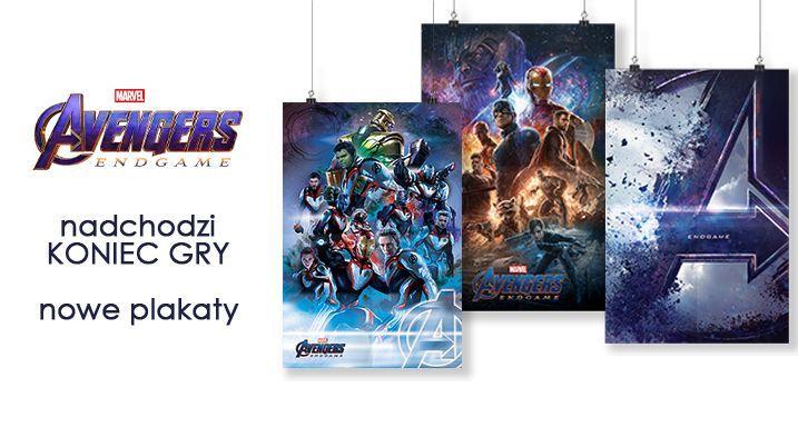 Nowe Plakaty Avengers Endgame Sklep Nice Wall