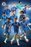 98c0b51c6661 Chelsea Londyn Zawodnicy 11 12 - plakat