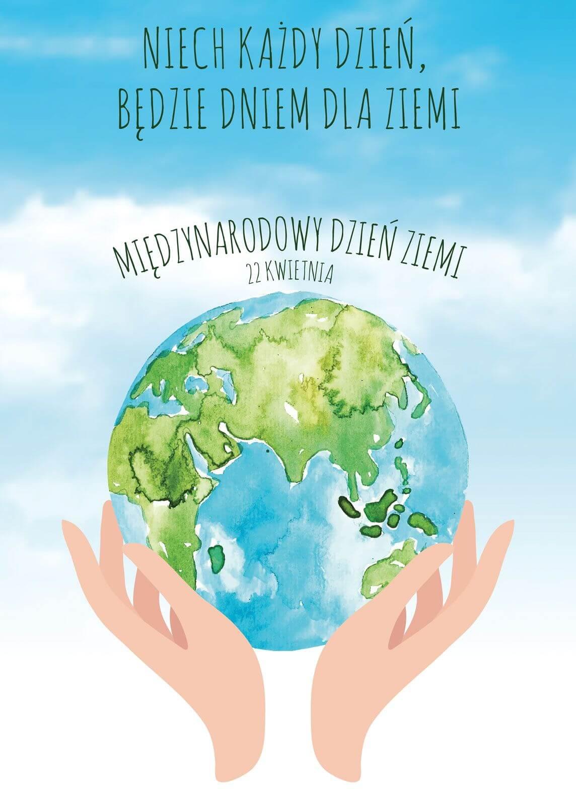 Poster Na Międzynarodowy Dzień Ziemi 50x70 Cm Oficjalny