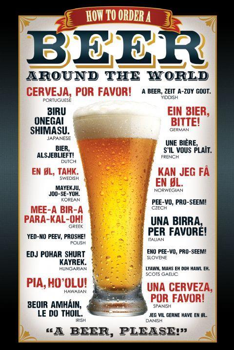 Piwo Proszę Plakat