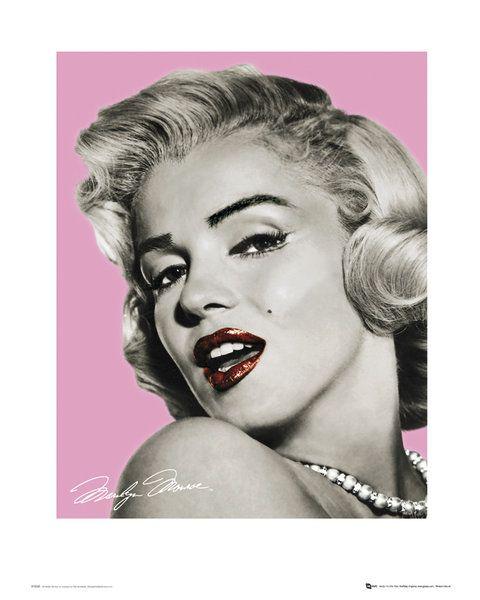 f799353f028268 Marilyn Monroe Pink - reprodukcja | Sklep ePlakaty.pl