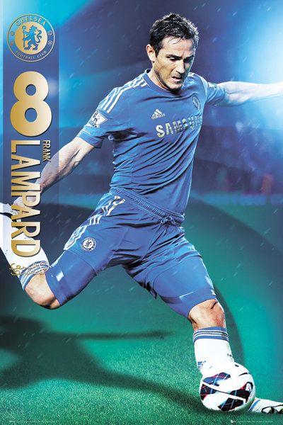 ed0a403691b5 plakat na ścianę z zawodnikiem Chelsea Lampardem