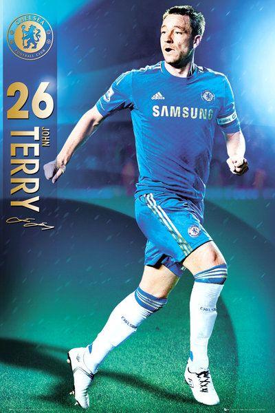 8e3389a8af20 plakat na ścianę z zawodnikiem Chelsea Terry