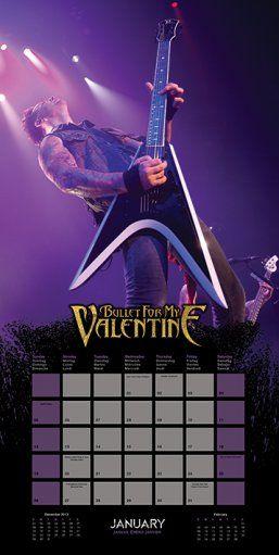 bullet for my valentine kalendarz 2014 sklep eplakatypl