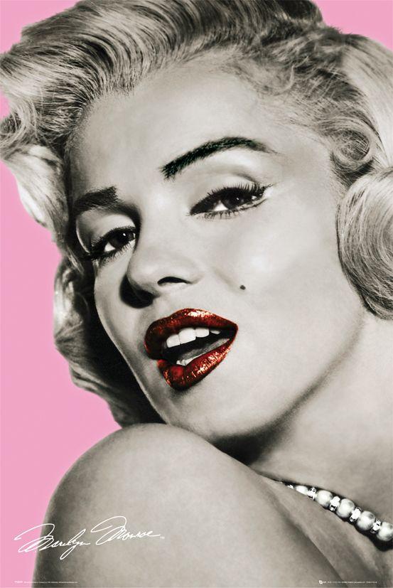 d7f01f17eab574 Marilyn Monroe (pink) - plakat | Sklep ePlakaty.pl