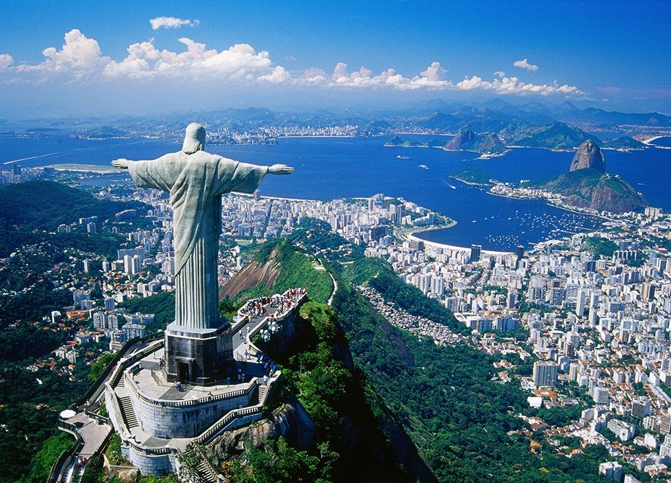 Rio De Janeiro Brazylia Fototapeta Sklep EPlakaty Pl