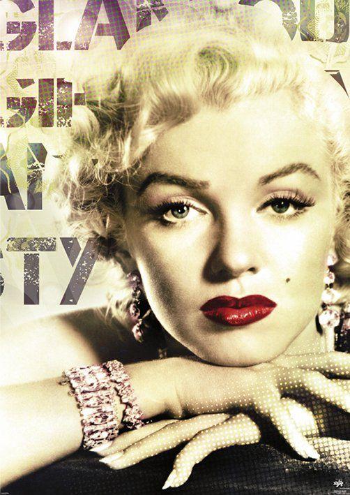 a66efa763810ed Marilyn Monroe (Glamour Colour) - plakat | Sklep ePlakaty.pl
