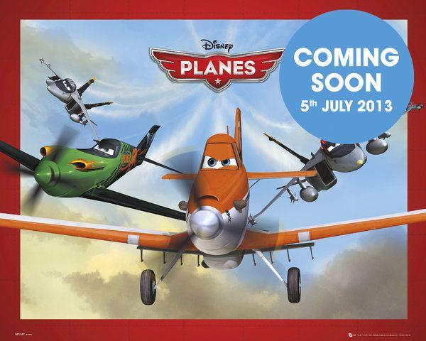 Samoloty Planes Plakat
