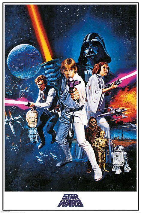 Star Wars Gwiezdne Wojny Nowa Nadzieja Plakat