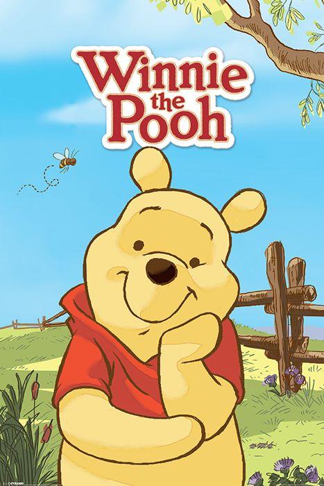 Kubuś Puchatek I Przyjaciele Pooh Plakat