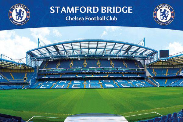 4962bb9cd031 plakat na ścianę z widokiem na stadion Chelsea