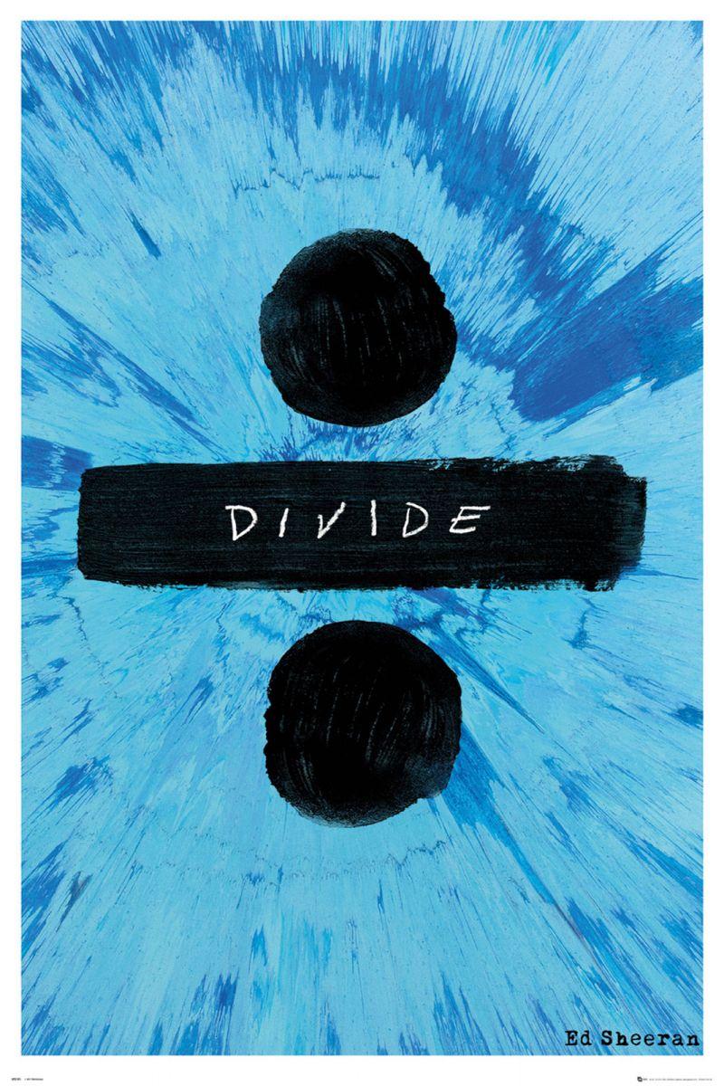 Plakat Na ścianę Okładki Albumu Divide Ed Sheeran