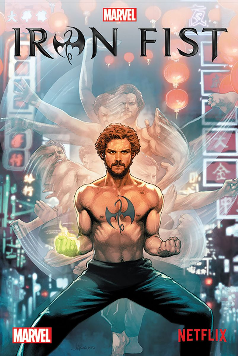 Iron Fist Marvel Plakat Z Filmu