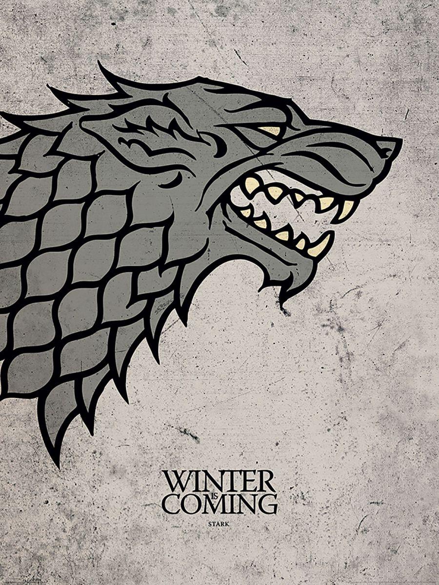 Game Of Thrones Stark Reprodukcja