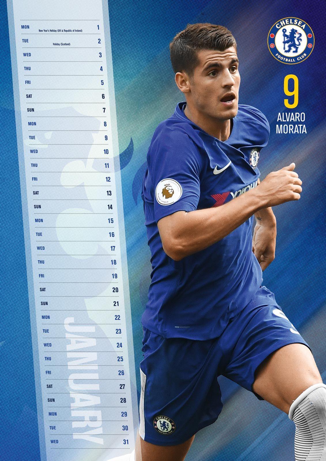 56d524745592 Kalendarz 2018 Chelsea FC ...