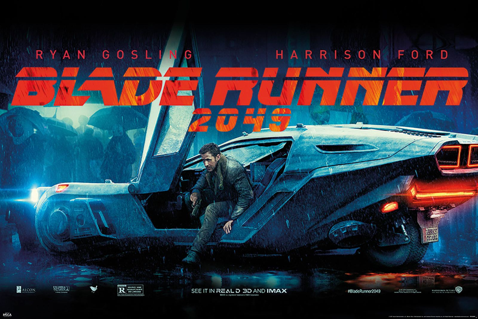 Blade Runner 2049 Flying Car Plakat Z Filmu