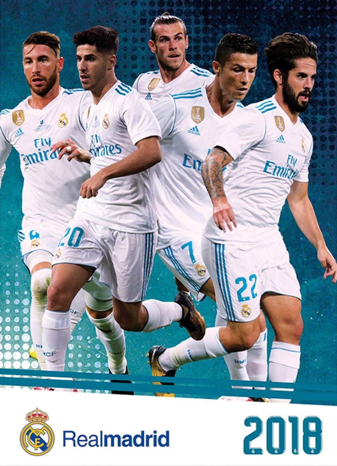 cf71b7dc3d67f Real Madrid - kalendarz 2018