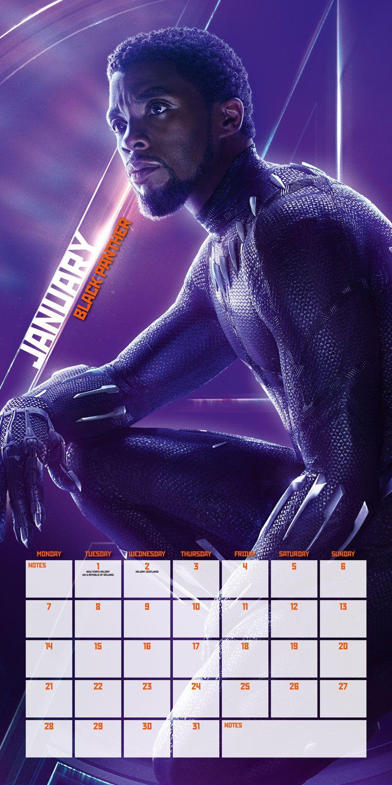 avengers infinity war kalender 2019 wandkalender gr e. Black Bedroom Furniture Sets. Home Design Ideas