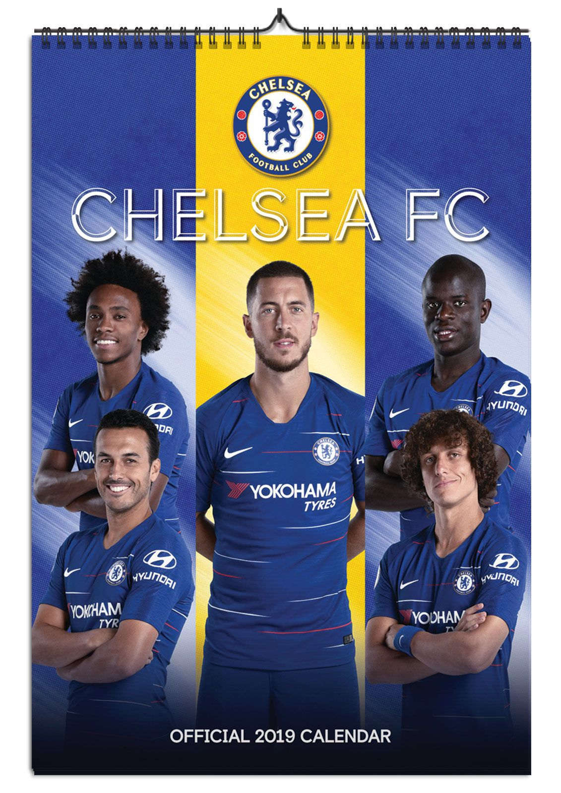 7b49d7cc2dc8 Chelsea F.C - kalendarz A3 na 2019 rok