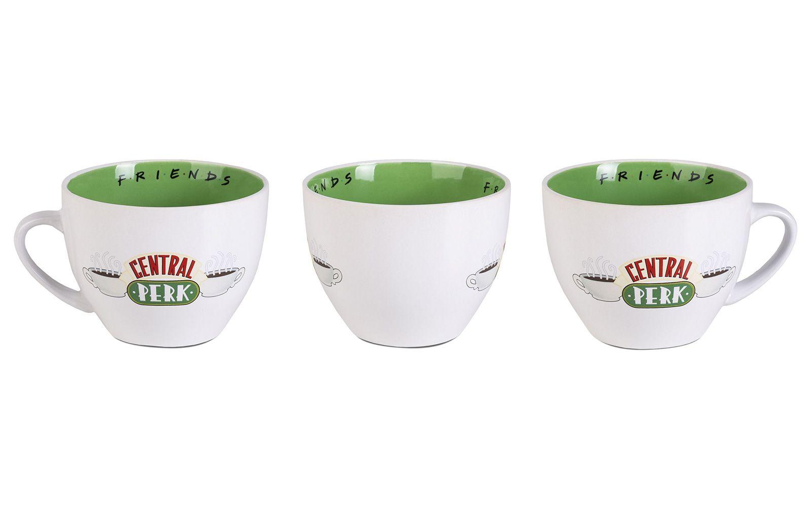 a4cd7c98ac6f Duża filiżanka Friends Central Perk · Porcelanowa filiżanka z serialu  Przyjaciele z logiem kawiarni Central Perk ...