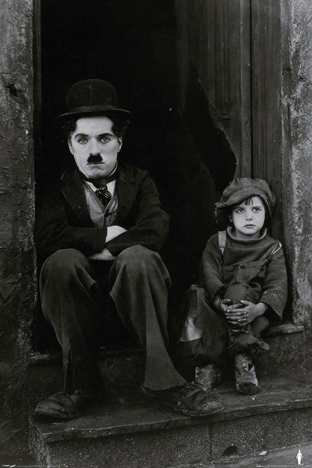 Charlie Chaplin The Kid Plakat