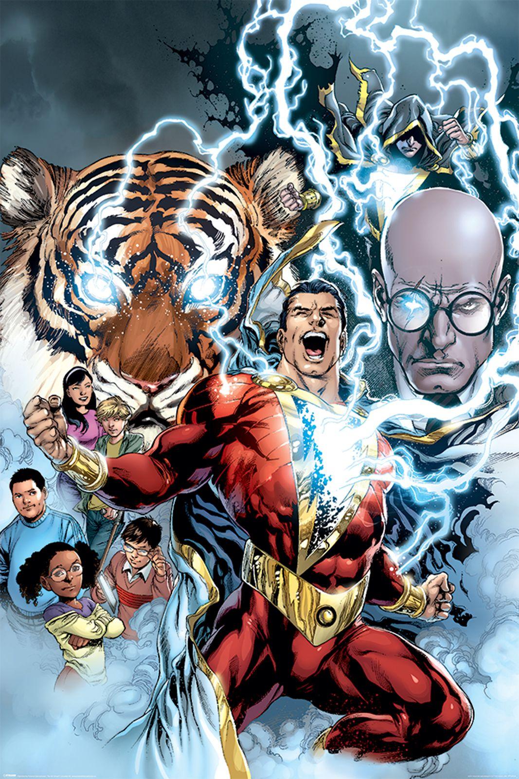 Shazam The Power Of Shazam Plakat