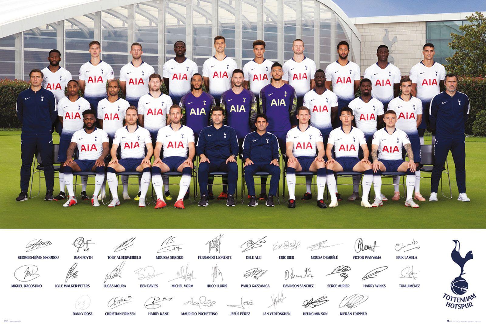 Oficjalny poster Tottenhamu