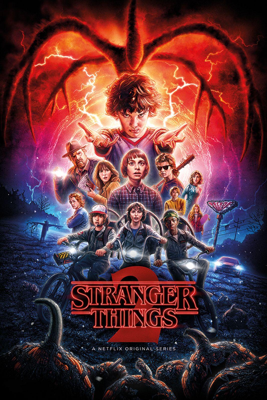 Stranger Things 2 Sezon Plakat
