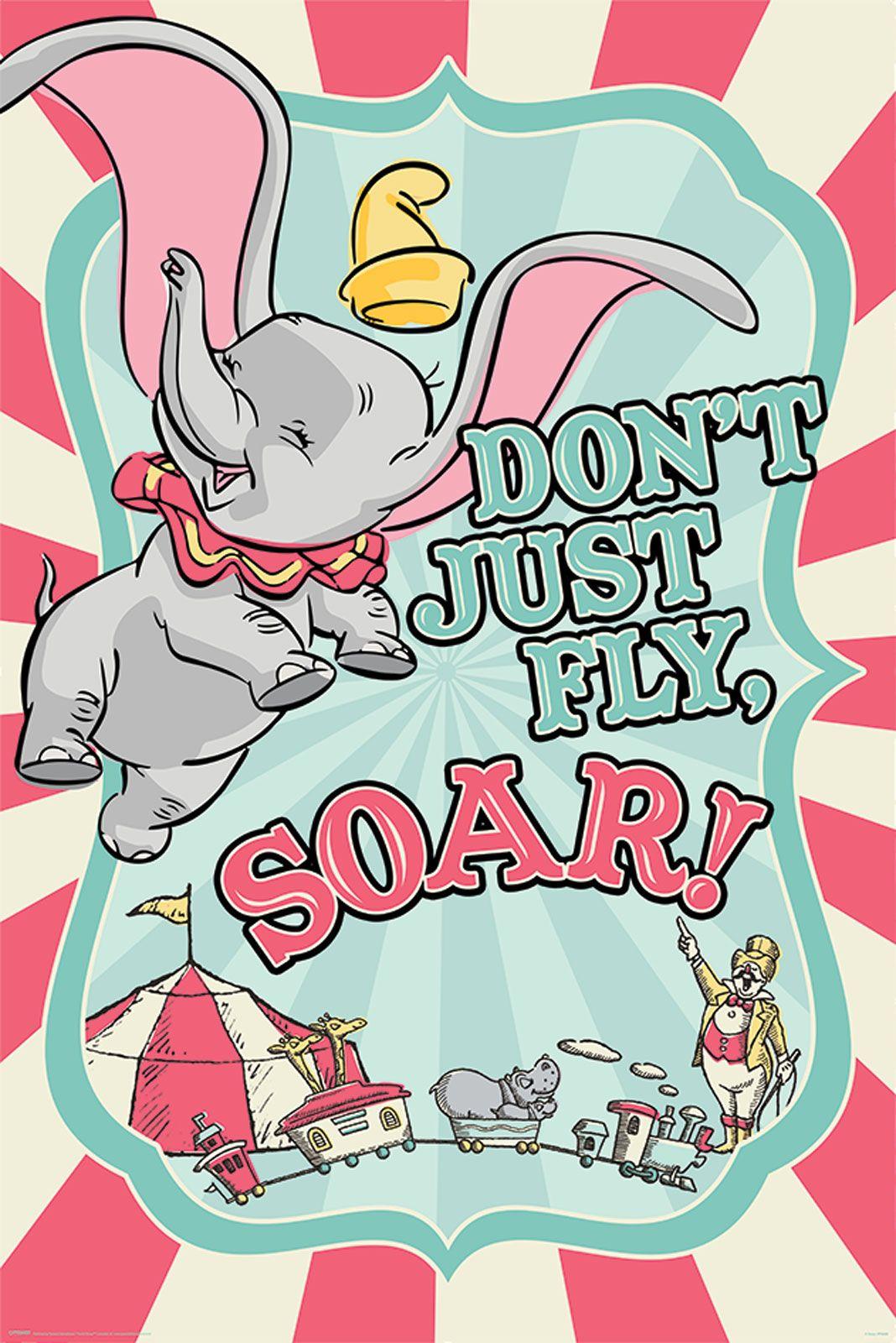 Dumbo Circus Plakat Bajkowy