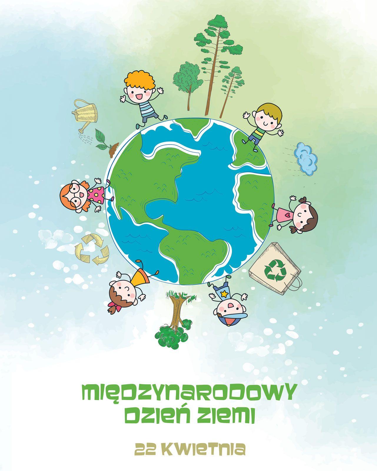 Plakat na Międzynarodowy Dzień Ziemi 40x50 cm | oficjalny sklep Nice Wall