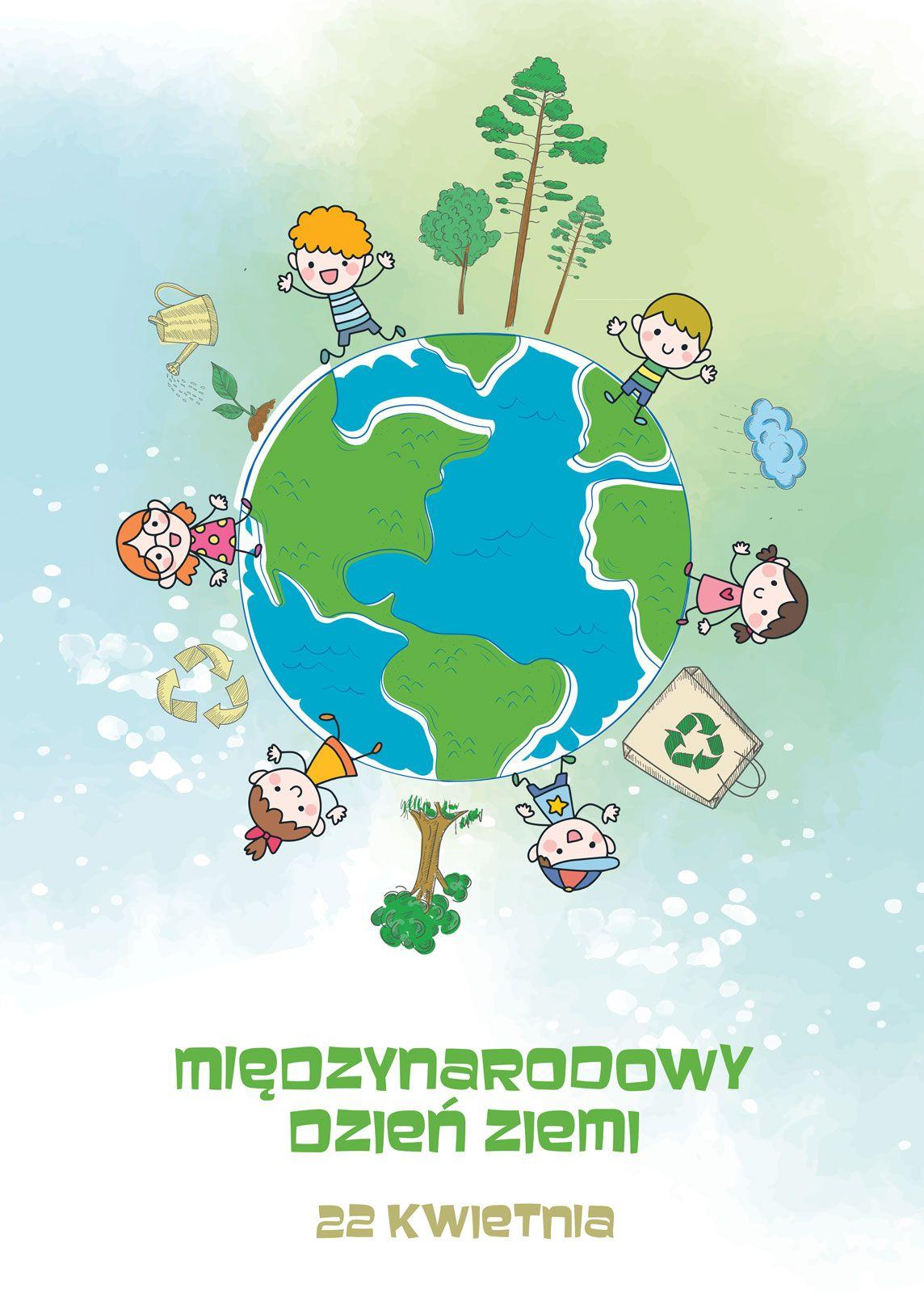 Międzynarodowy Dzień Ziemi Plakat