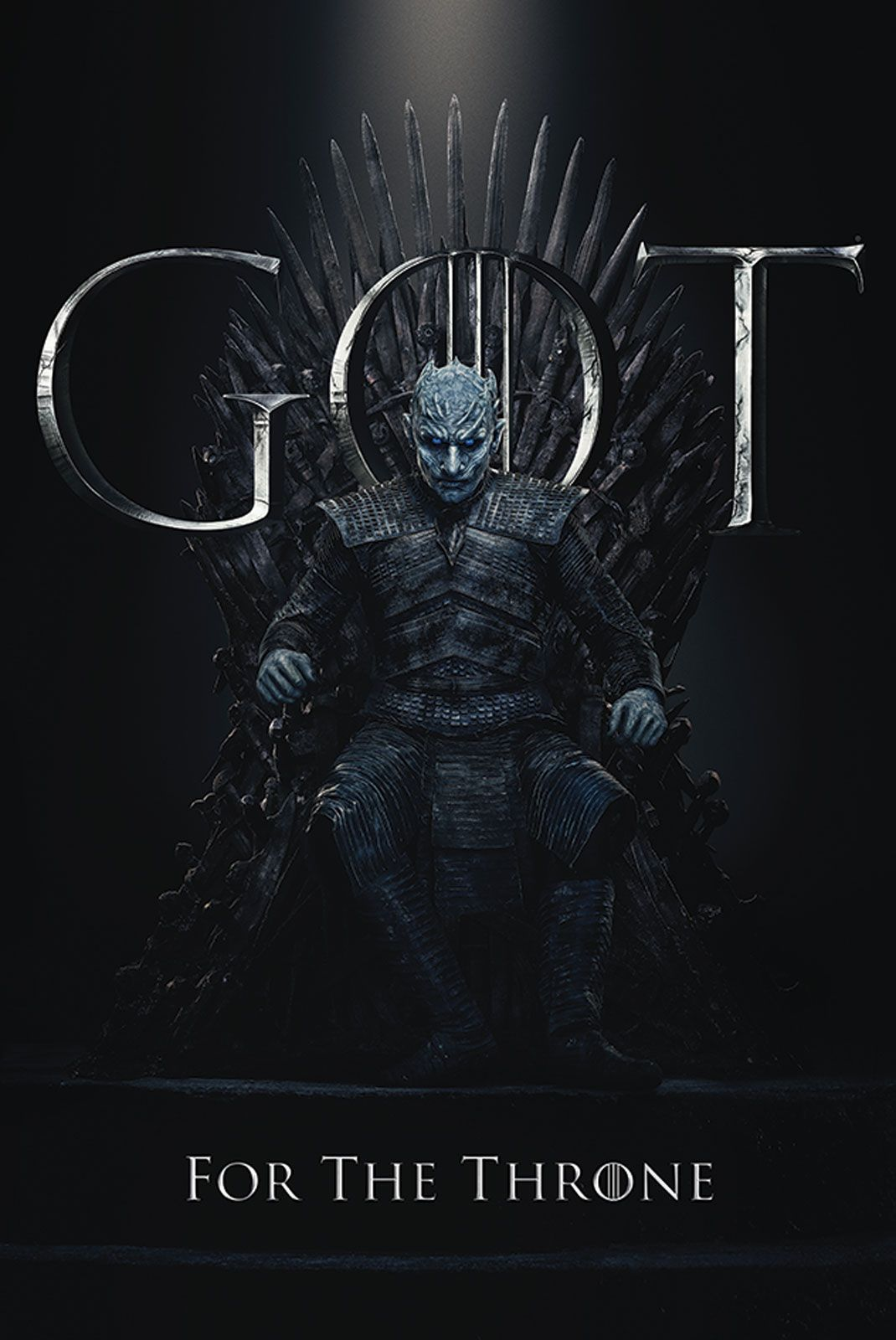 Game Of Thrones The Night King For The Throne Plakat