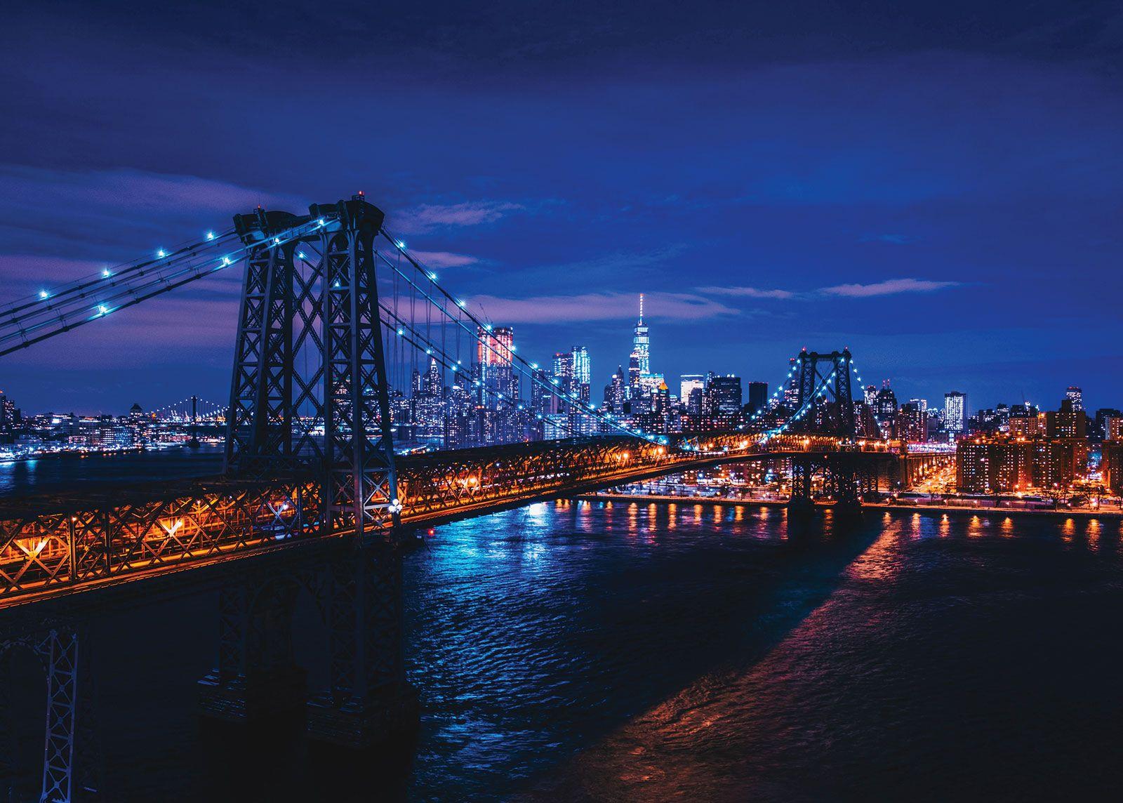Most Nocą Plakat