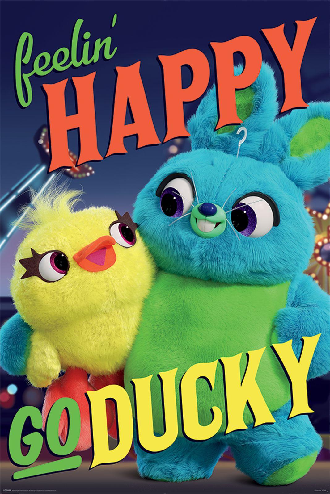 Toy Story 4 Happy Go Ducky Plakat