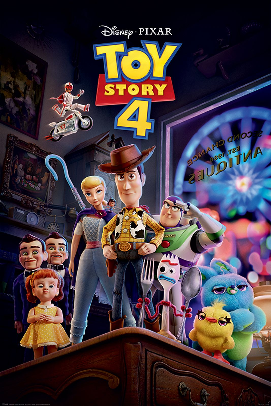 Toy Story 4 Antique Shop Anarchy Plakat