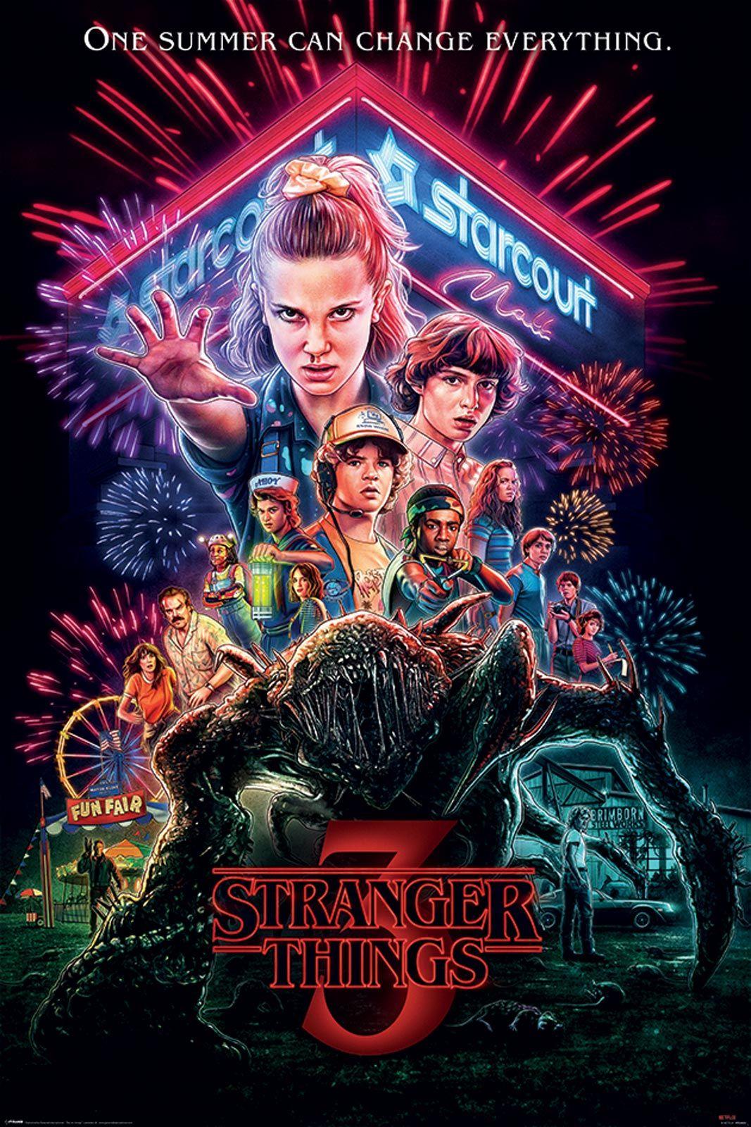 Stranger Things Summer of 85 - plakat