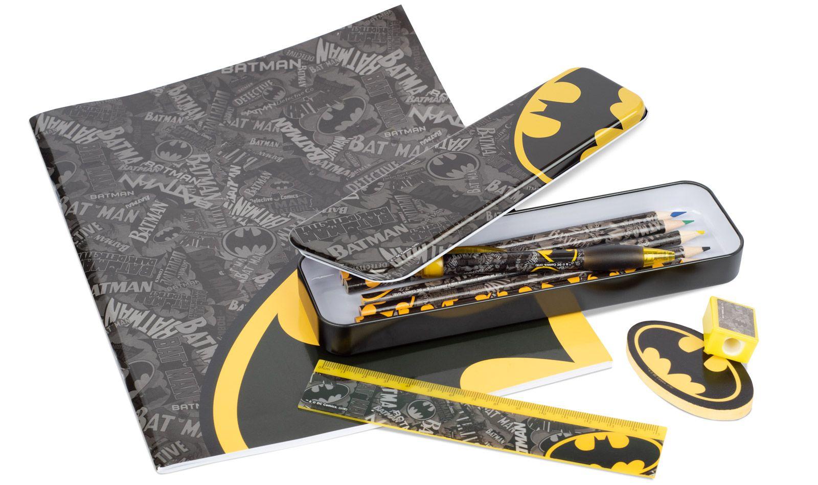 Zestaw przyborów szkolnych Batman
