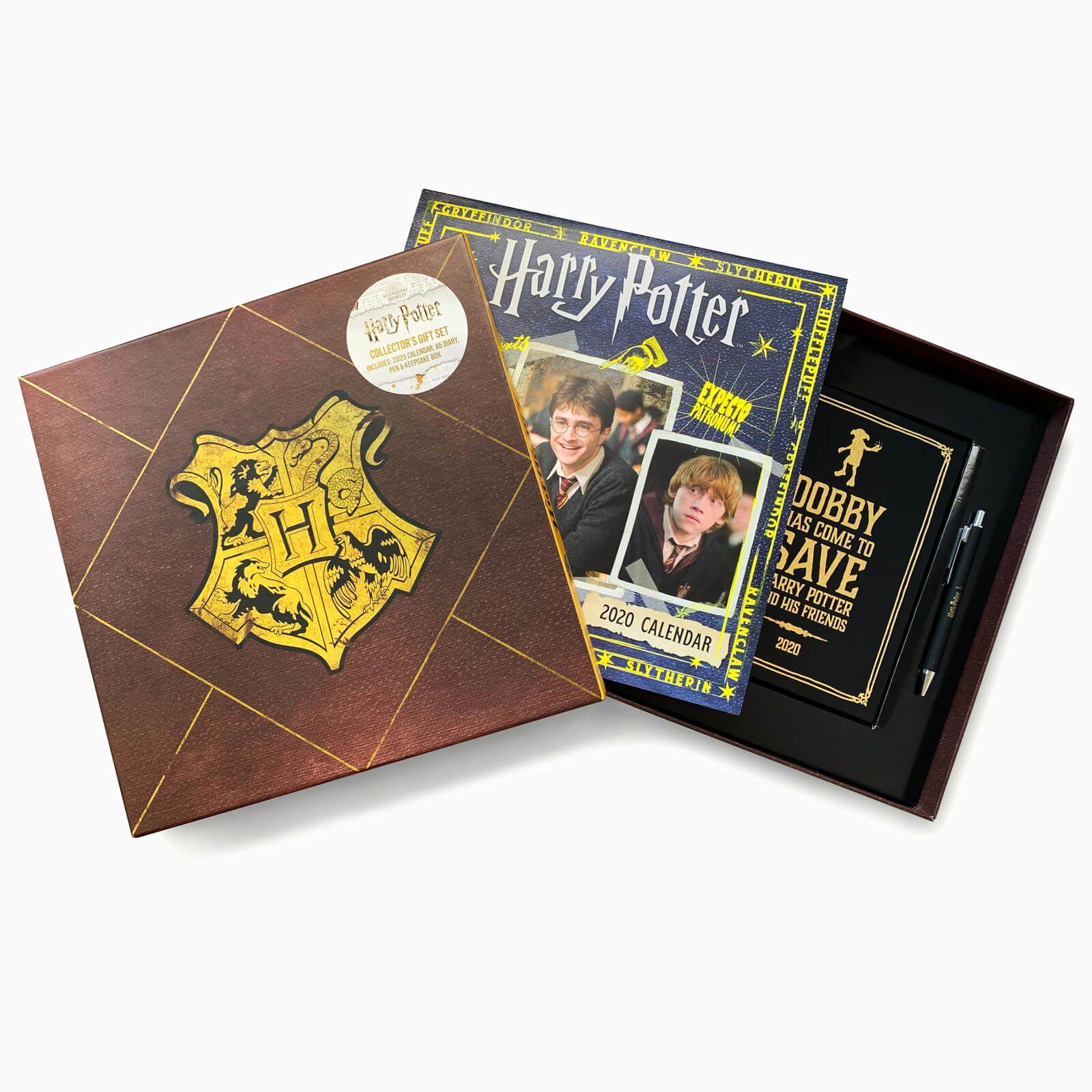 Harry Potter - zestaw na prezent długopis, kalendarz, pamiętnik 2020