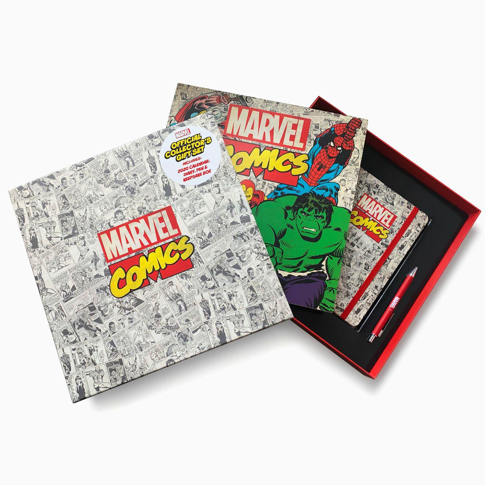 Marvel Comics - zestaw na prezent długopis, kalendarz, pamiętnik 2020