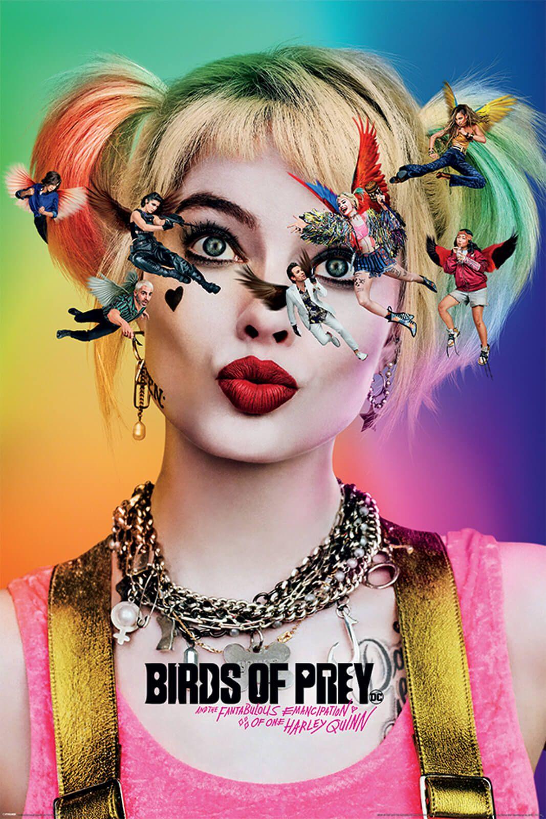Filmowy plakat Birds Of Prey z Harley Quinn