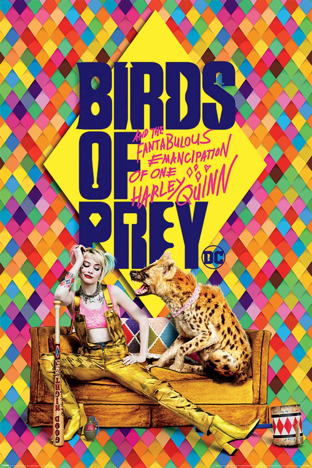 Birds Of Prey Harley's Hyena plakat