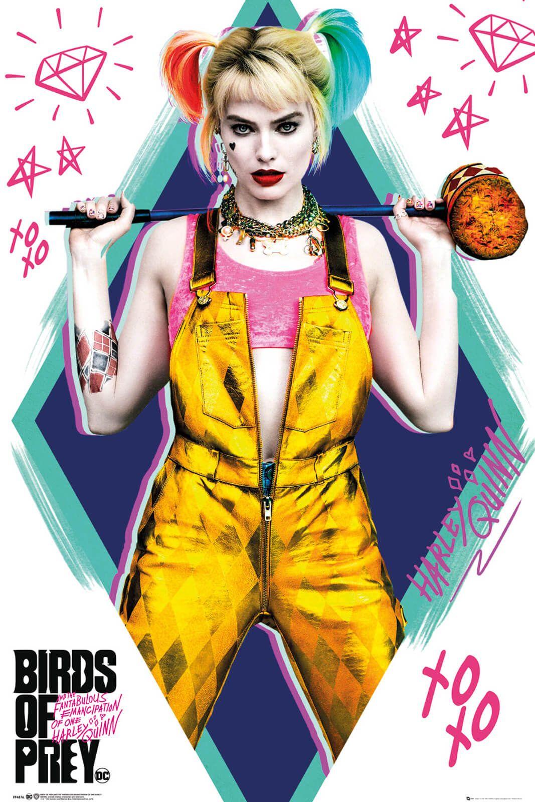 Birds Of Prey Harley Quinn - plakat