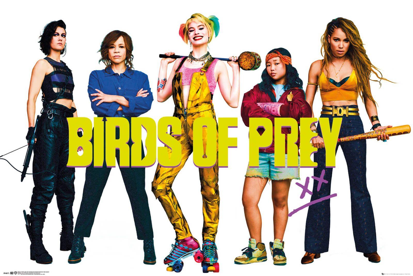 Plakat z filmu Ptaki Nocy