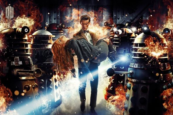plakat z Doctor Who (Doctor & Amy)