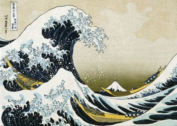 Hokusai Great Wave - plakat