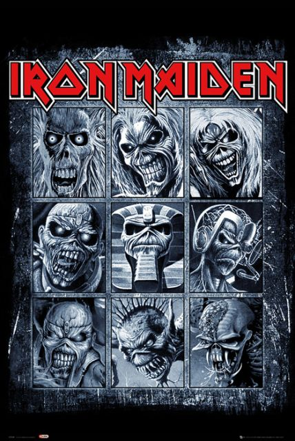 Iron Maiden - plakat