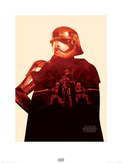reprodukcja Star Wars The Force Awakens Kapitan Phasma