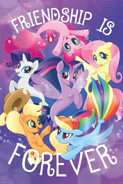 My Little Pony Movie (Friendship is Forever) - plakat