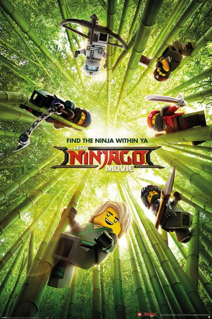 LEGO® Ninjago Movie (Bamboo) - plakat